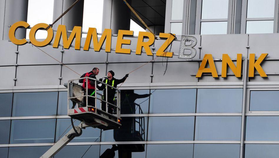 Schon wieder etwas kaputt: Ärger mit der Commerzbank