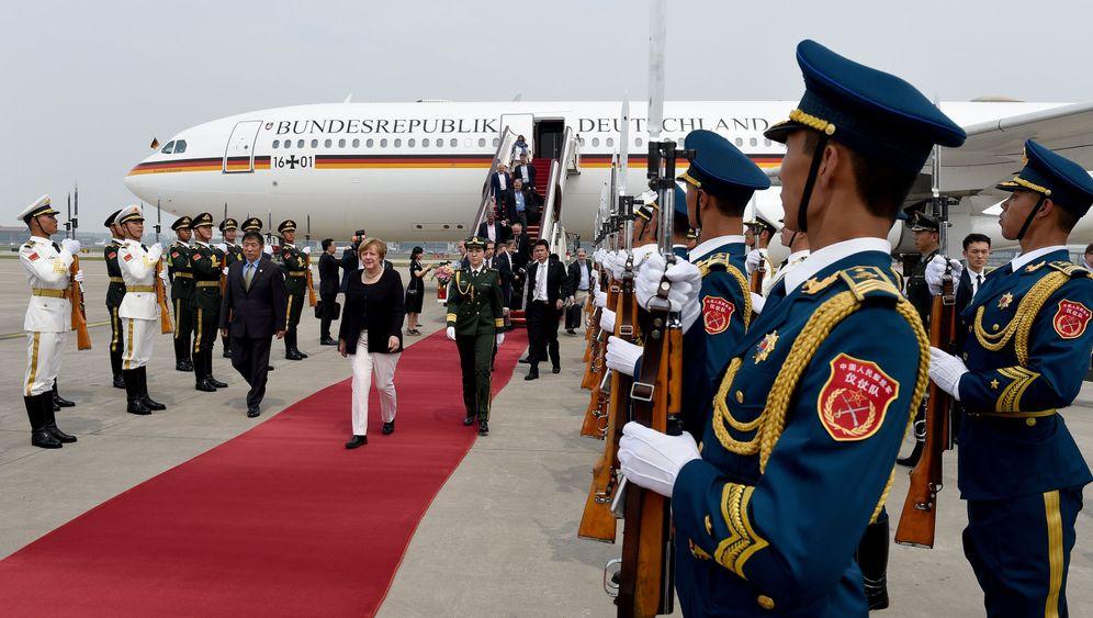 Kanzlerin in China: Ehrendoktorin Merkel