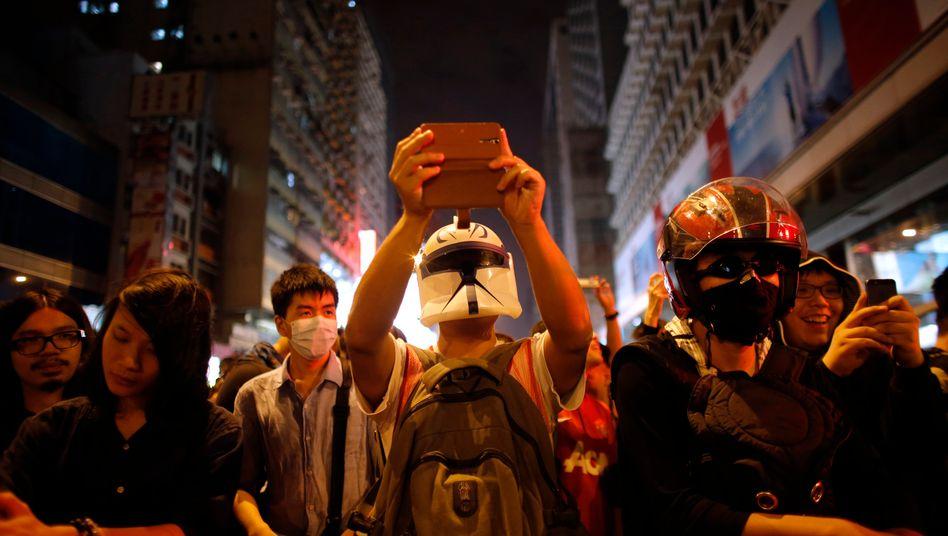 Proteste in Hongkong (Archivbild): Neues Gesetz dürfte harte Strafen mit sich bringen