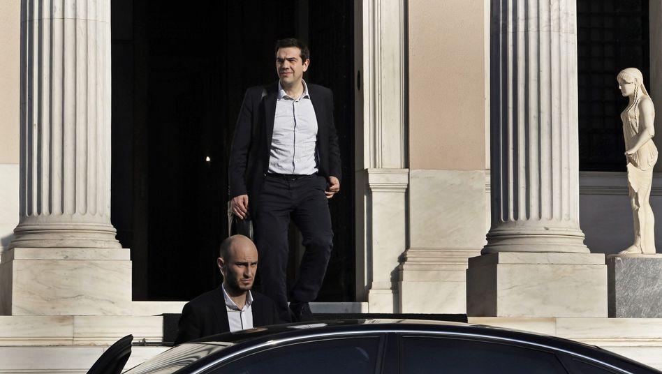 """Alexis Tsipras (am Sonntag in Athen): """"Griechenland ist keine Kolonie"""""""