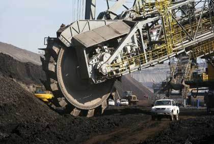 Brown coal mining is making a comeback in former East Germany.