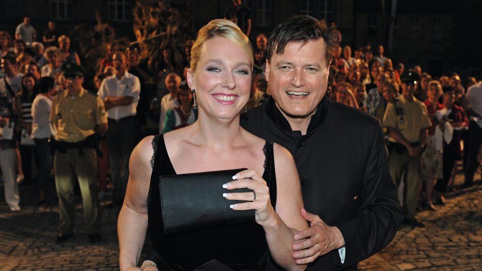 Festspielleiterin Wagner, Dirigent Thielemann 2012:Wieder auf internationalem Niveau