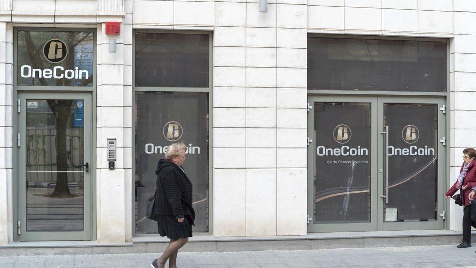 Der Hauptsitz von OneCoin in Sofia