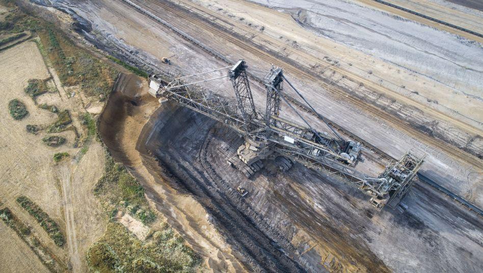 """Deutscher Tagebau: """"Der Kohleausstieg kommt zu spät"""" (Archivfoto)"""