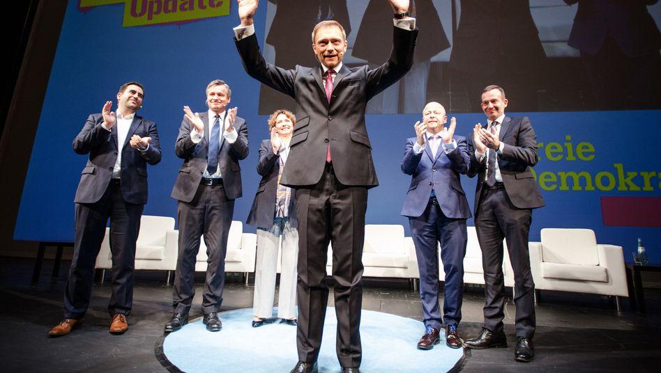 FDP-Chef Lindner: Scharfe Abgrenzung gegenüber der AfD