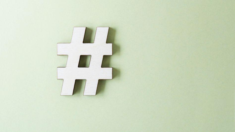 Hashtag: Die Stichwörter mit Rautezeichen gehören mittlerweile zur Internetkultur