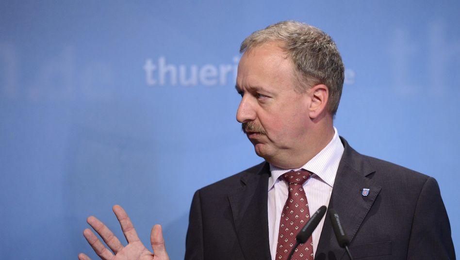 Thüringens Innenminister Joerg Geibert (CDU): Ärger wegen verschwundener Akten