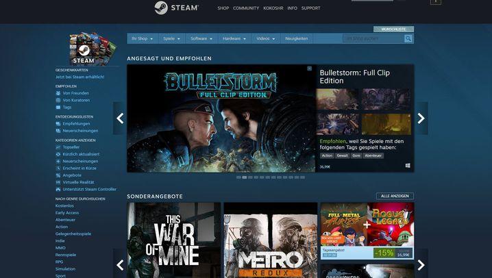 Spieleplattform von Valve: Was ist eigentlich Steam?