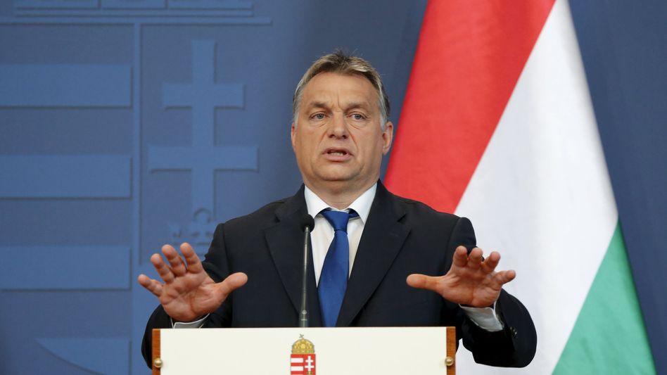 Ungarns Premierminister Orbán: Überzeugter Euroskeptiker
