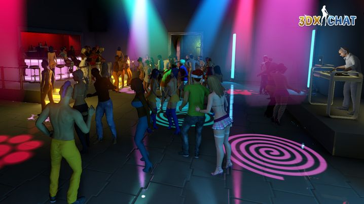 "Disco in ""3DXChat"""