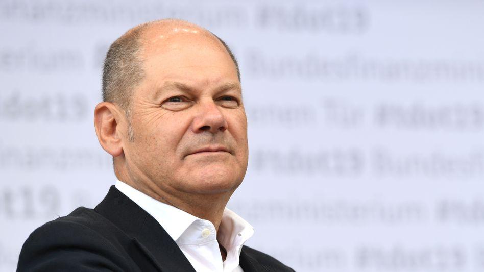 Olaf Scholz: Finanzminister, Vizekanzler - und für die Mehrheit der SPD-Wähler der beste Kanzlerkandidat für ihre Partei