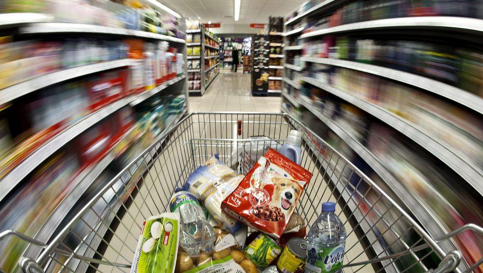 Großer Wagen, enge Gänge: Der Einkaufsstress steigt