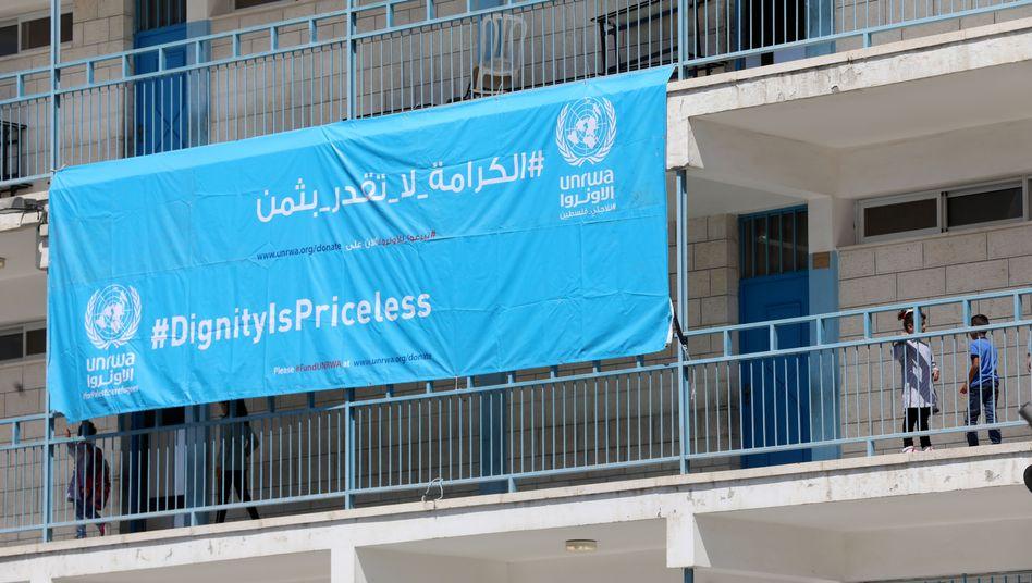 UNRWA-Schule im Westjordanland