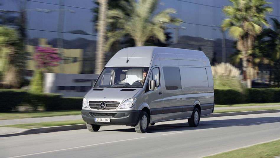 Mercedes Sprinter (Symbolbild): Software-Update sorgt für Aufregung