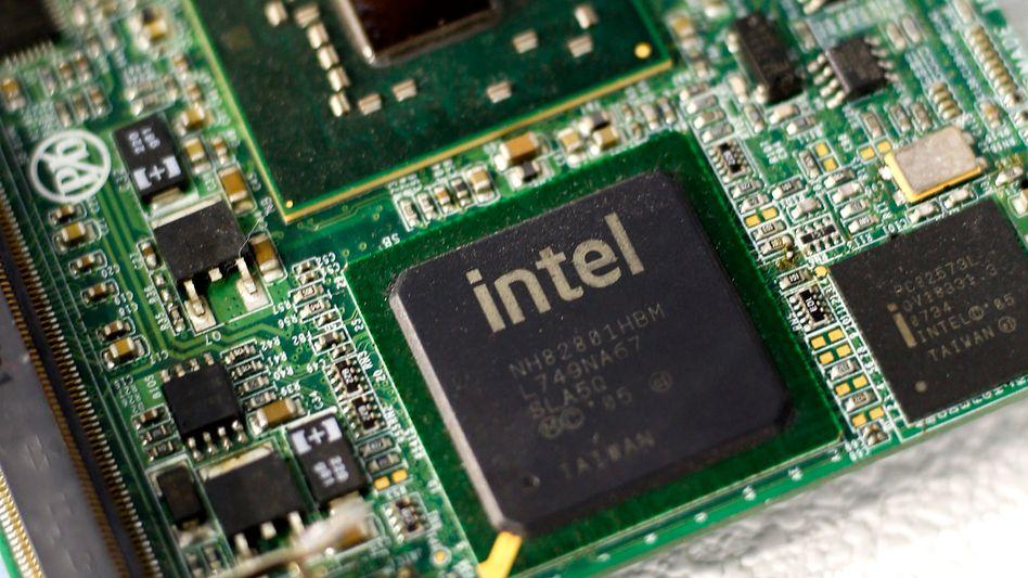 Intel-Chip (Symbolfoto)