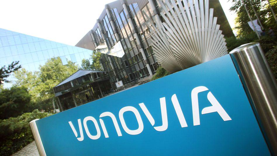 Firmenschild: Die Deutsche Annington heißt seit 3. September Vonovia