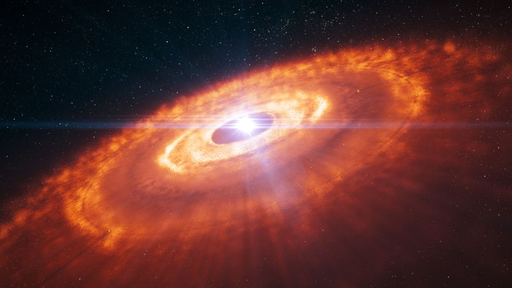 Geheimnisvolle Scheibe: Neue Planeten
