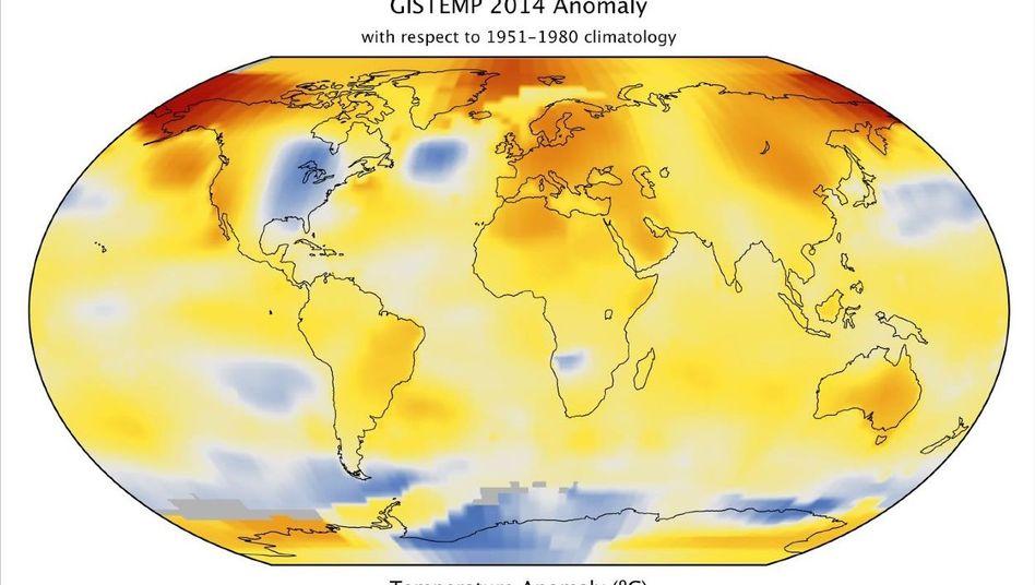 Klimamodell der Nasa: Über kurze Zeiträume regiert der Zufall