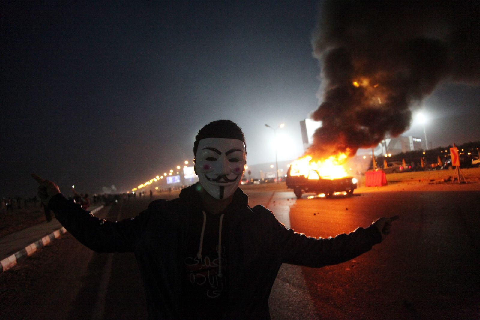 At least 14 killed in Egypt football violence