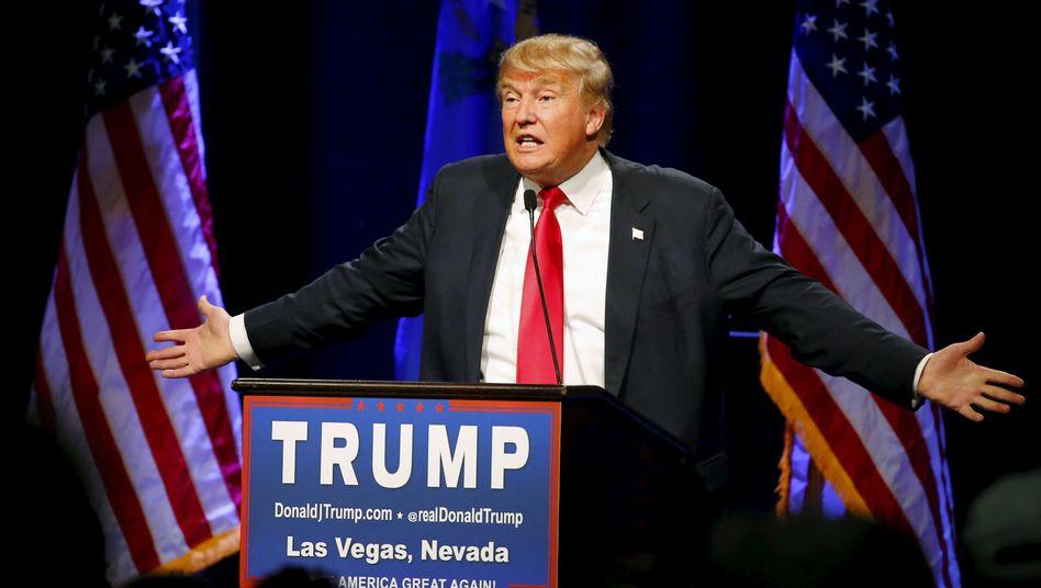 US-Präsidentschaftsbewerber Trump: Wahlkampf mit Tabubrüchen