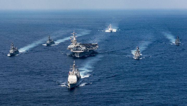 """USS """"Carl Vinson"""": Stützpunkt auf hoher See"""