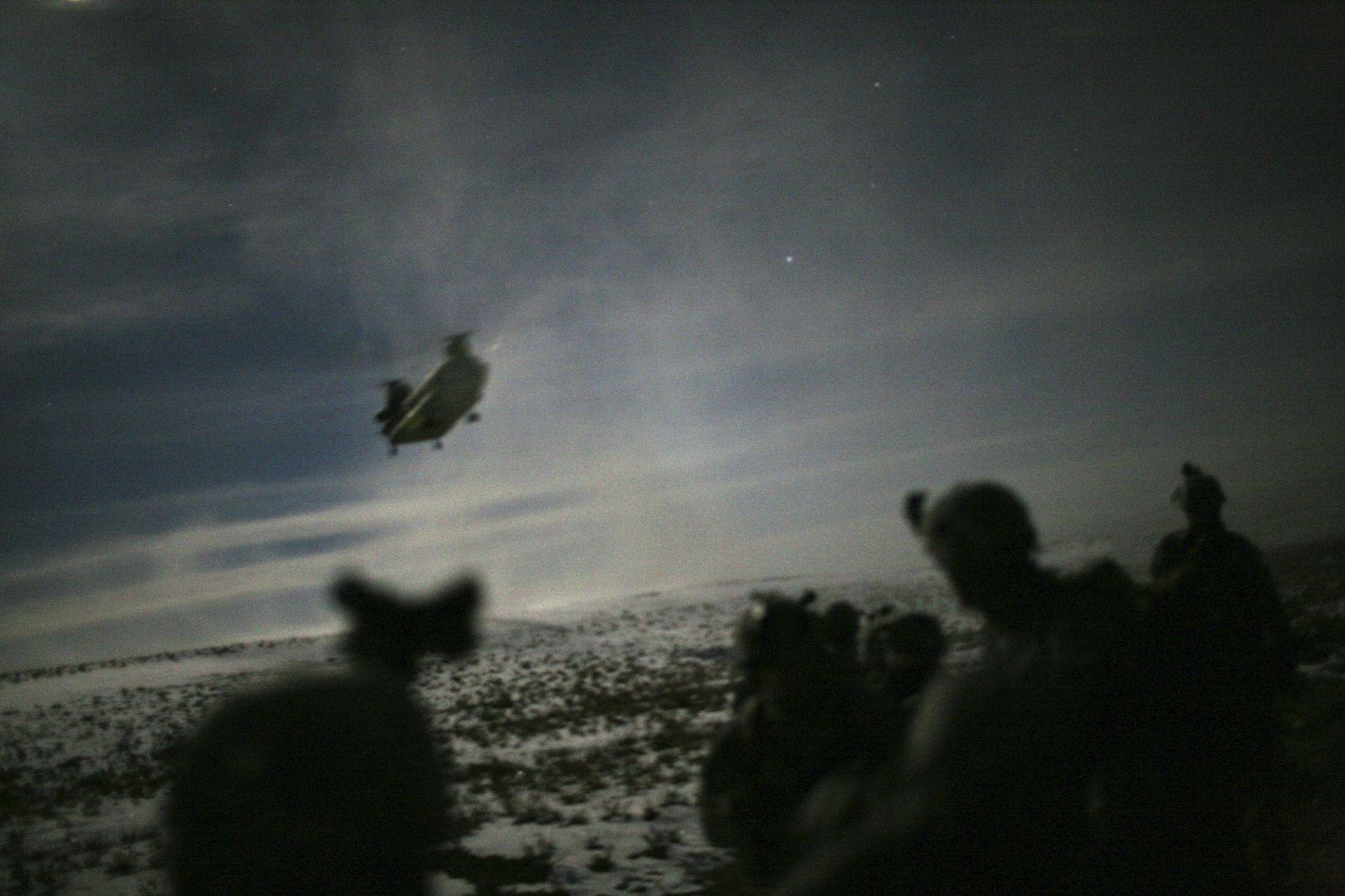 Night Raid Afghanistan