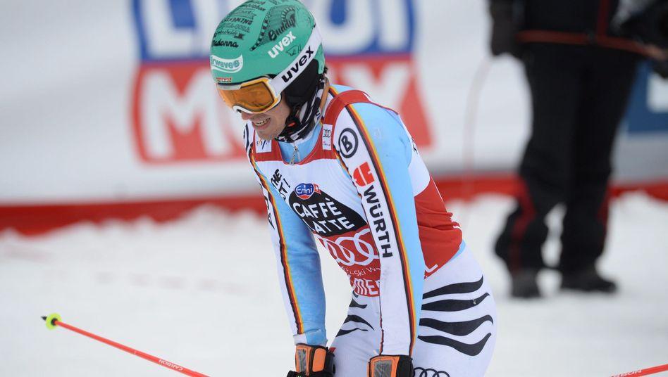 Ski-Fahrer Neureuther: Wieder nur Zweiter