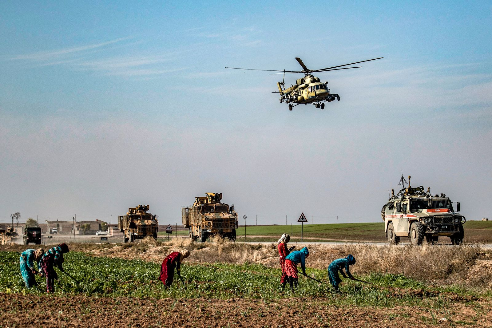 SYRIA-RUSSIA-TURKEY-CONFLICT