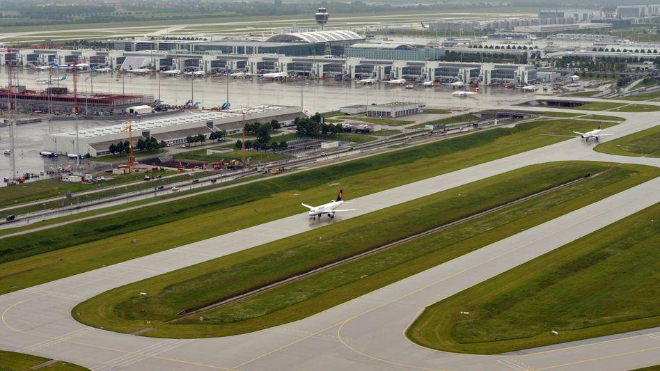 Der Flughafen München
