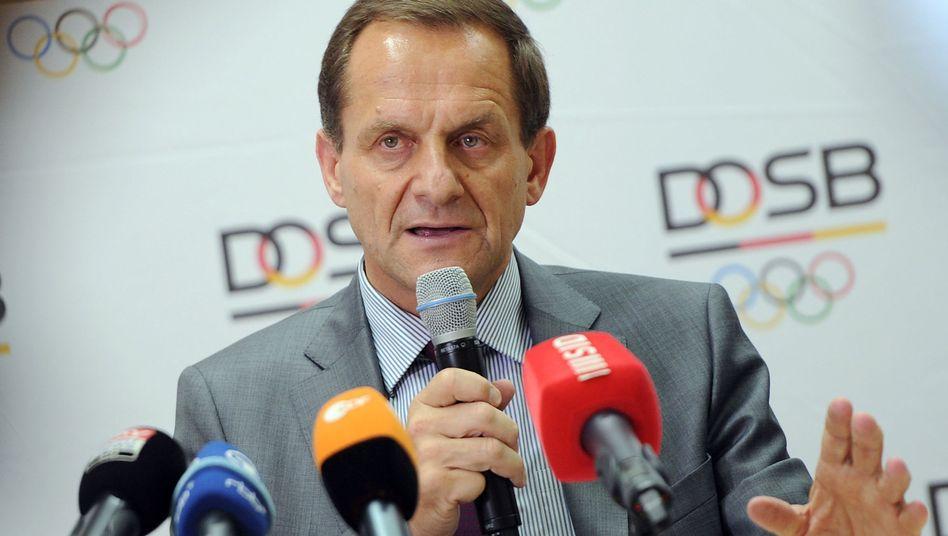 DOSB-Präsident Hörmann: Ärger über Rüffel vom Rechnungshof