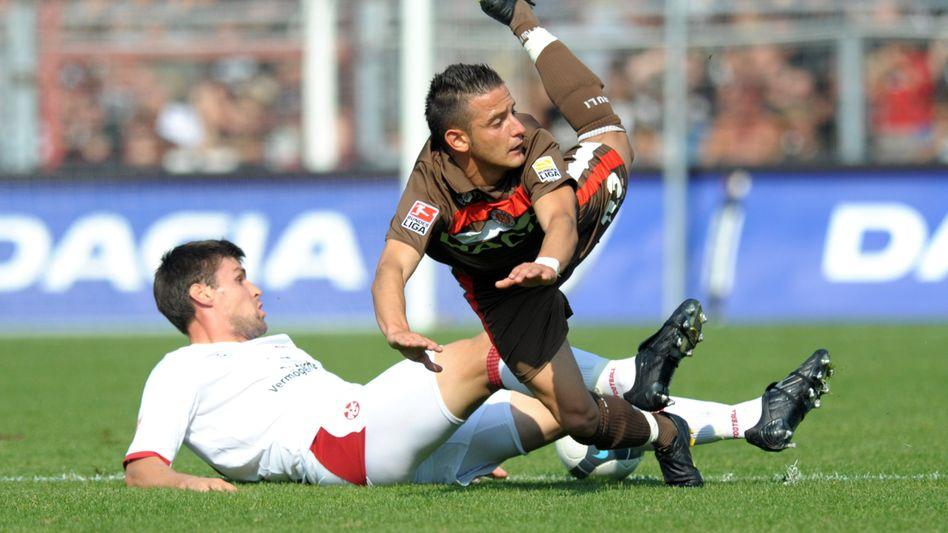 St.-Pauli-Profi Naki (r.): Drei Spiele gesperrt