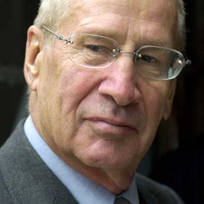 Markus Wolf, pictured in 2002, was a major Cold War player for East Germany.