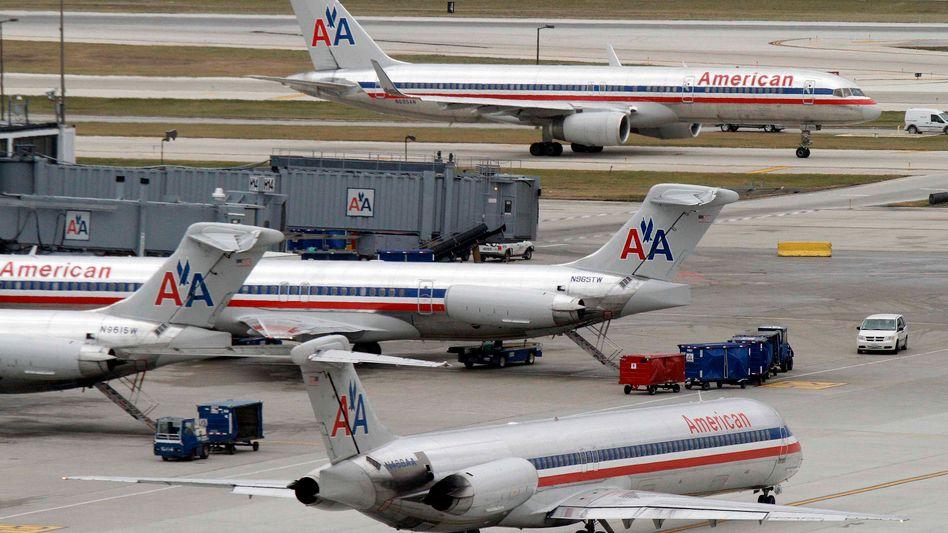 Flugzeuge von American Airlines: Aktie deutlich im Minus