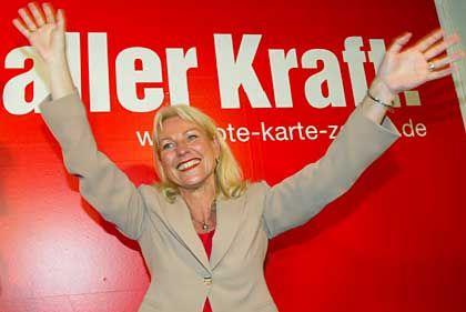 """PDS-Kandidatin Enkelmann: """"Bildungs- und Wirtschaftspolitik muss sich ändern"""""""
