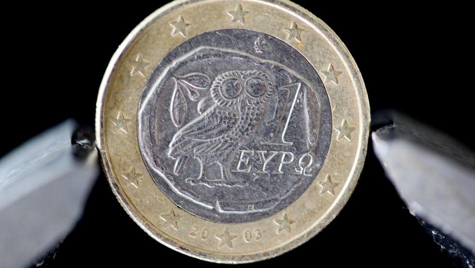 Griechische Euro-Münze: Die Währungsgemeinschaft könnte stabiler werden
