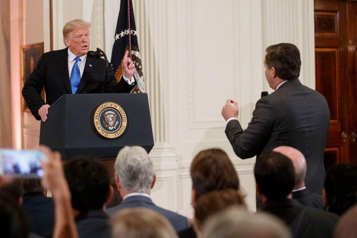 Pressekonferenz im Weißen Haus