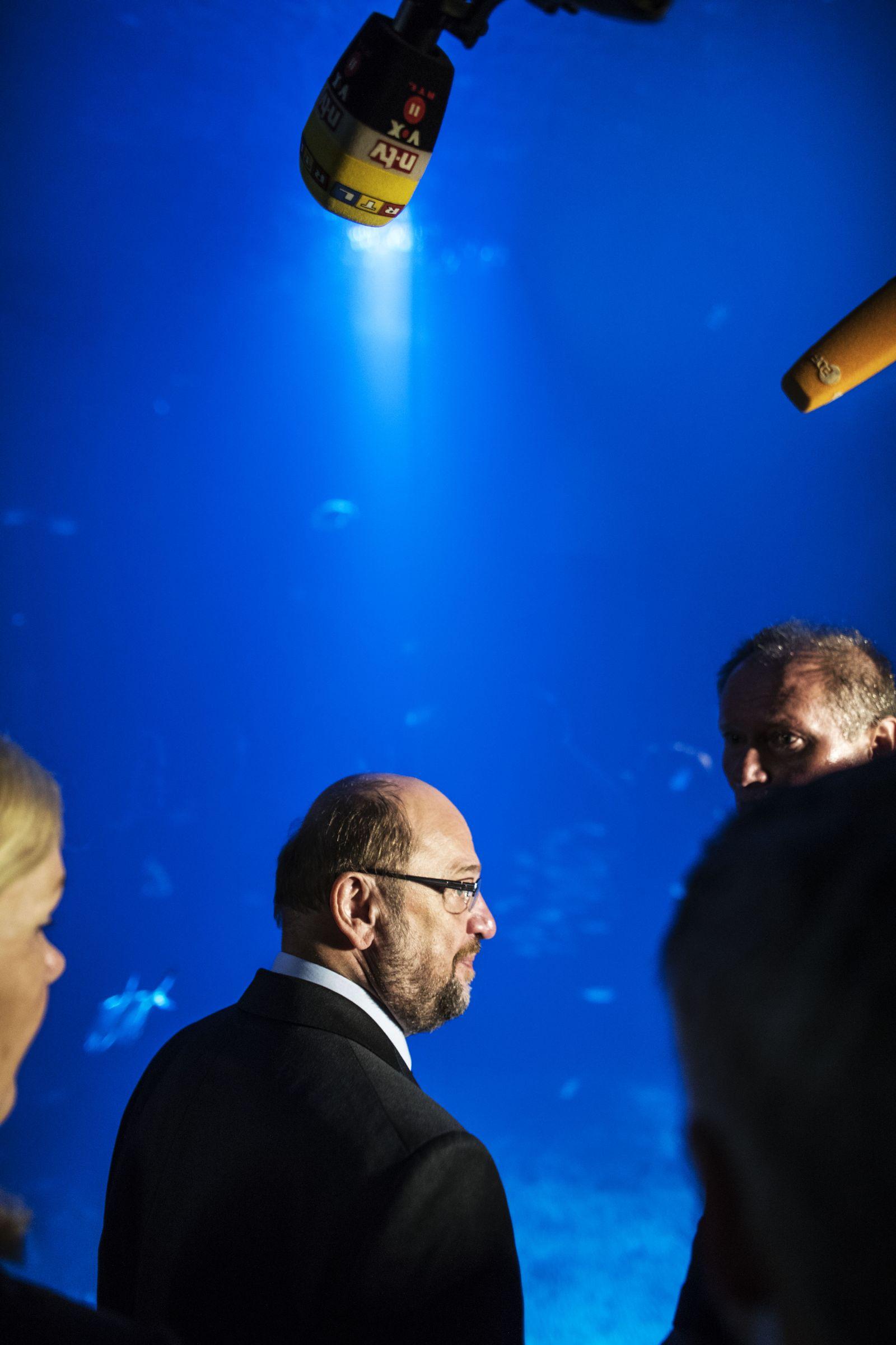 EINMALIGE VERWENDUNG NUR FÜR SPIEGEL Plus SP 35/2017, S.32 Martin Schulz STARTBILD