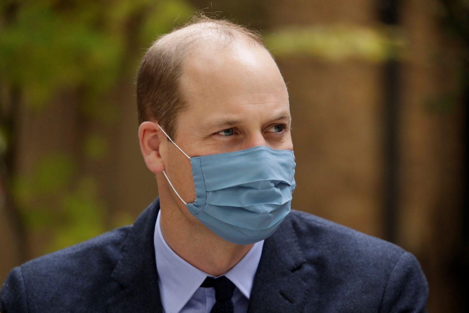 Britain's Prince William and Catherine, Duchess of Cambridge visit St. Bartholomew's Hospital in London