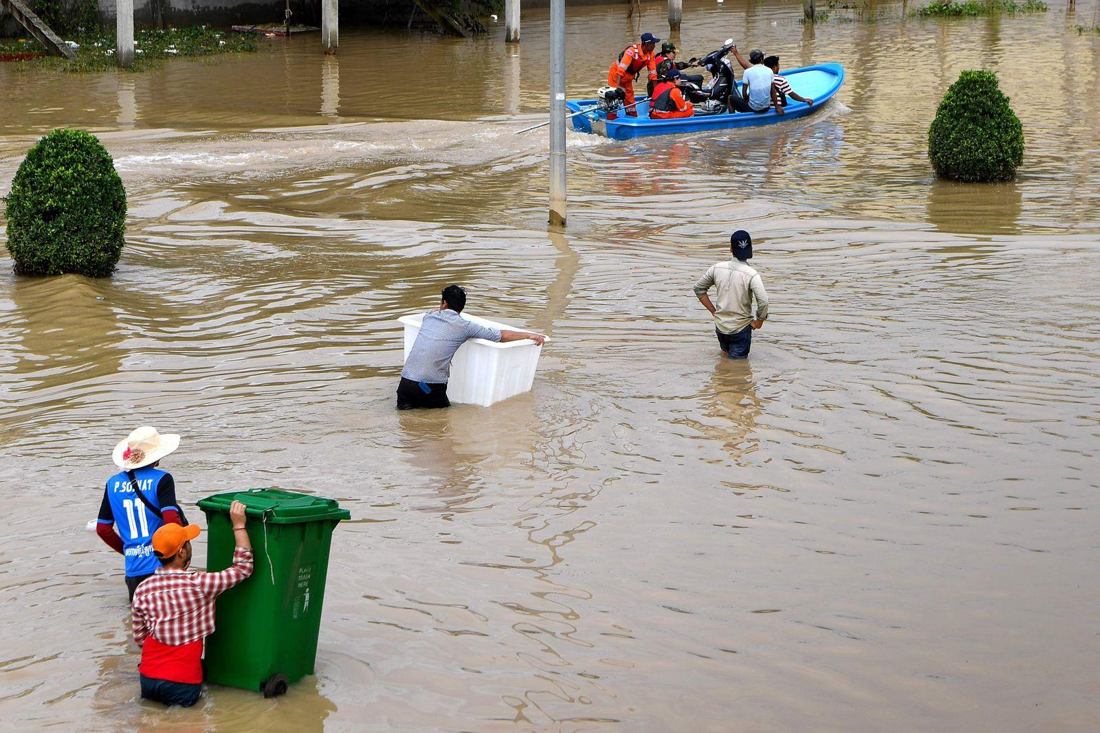 CAMBODIA-FLOOD
