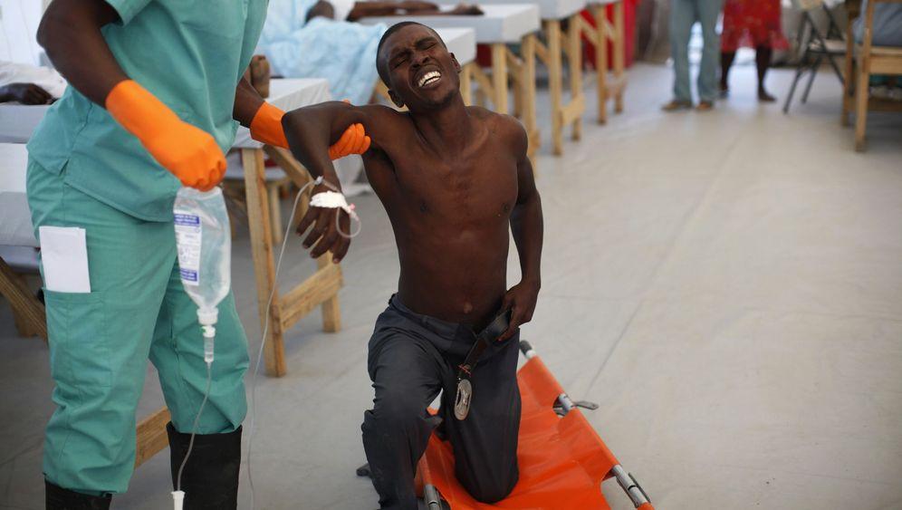 Cholera in Haiti: Leichen und Proteste
