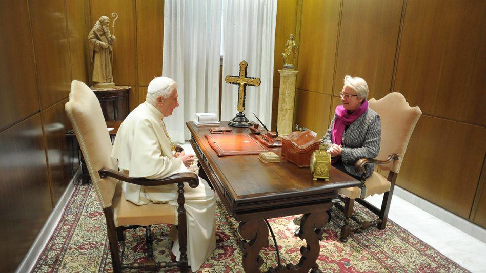 Schavan beim Papst: Drei Tage in Rom