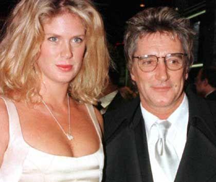"""Rod Stewart mit Noch-Ehefrau Rachel Hunter: """"Ich habe kein Interesse, an der Vergangenheit festzuhalten"""""""