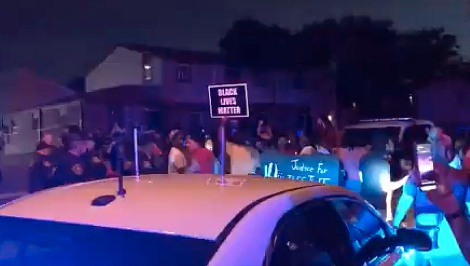 """Black Lives Matter"": Proteste in Kenosha"