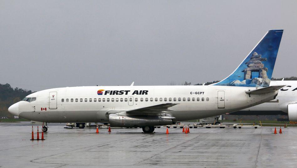 Flugzeug der Airline First Air (Symbolfoto)