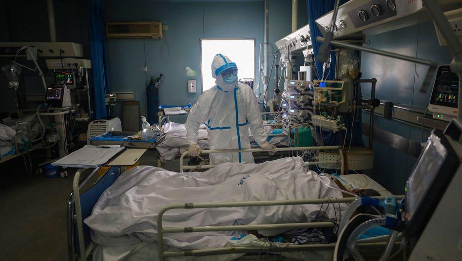 Epidemie: Coronavirus fordert bislang mehr als 1600 Todesopfer in China