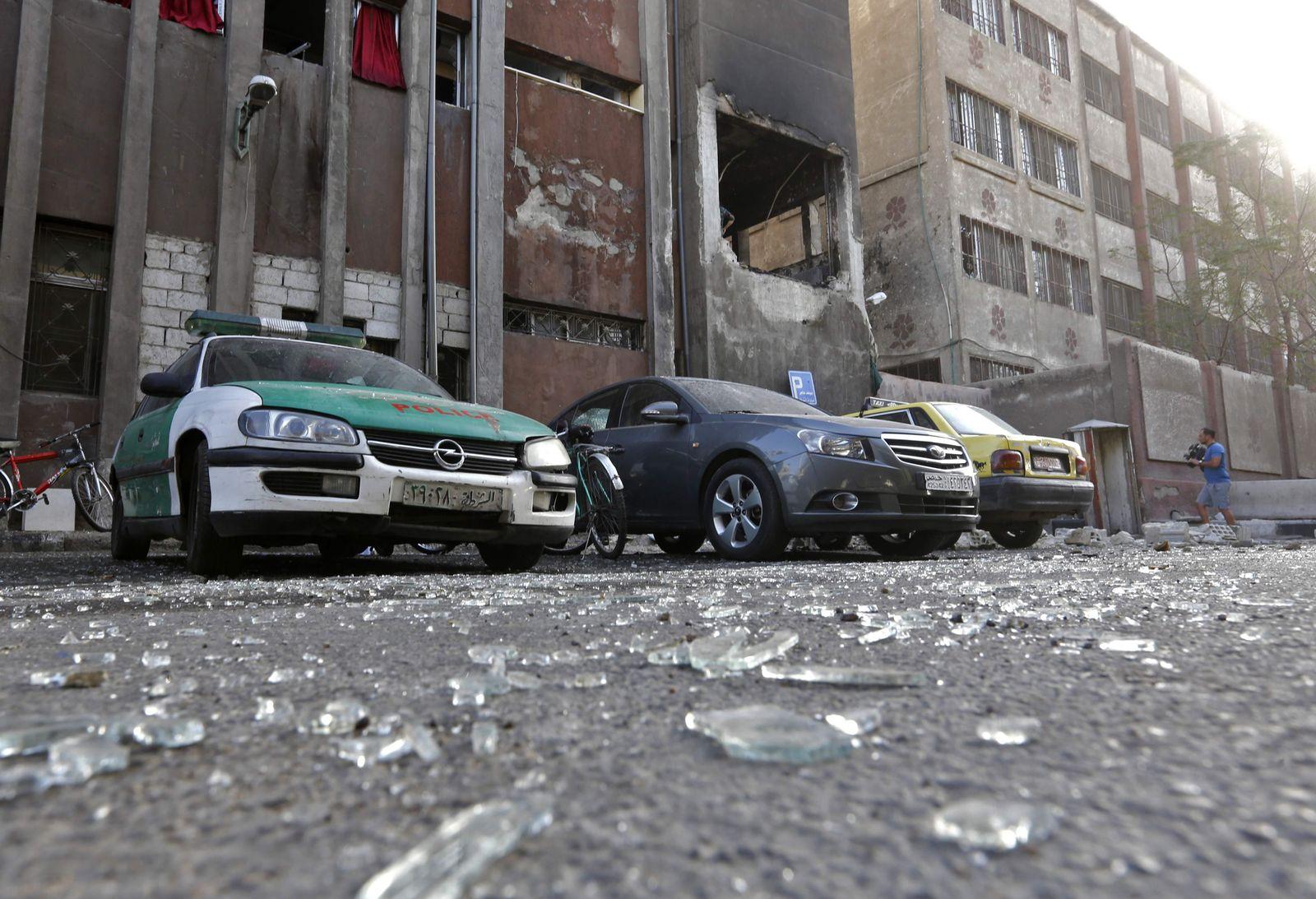 Anschlag Syrien Damaskus