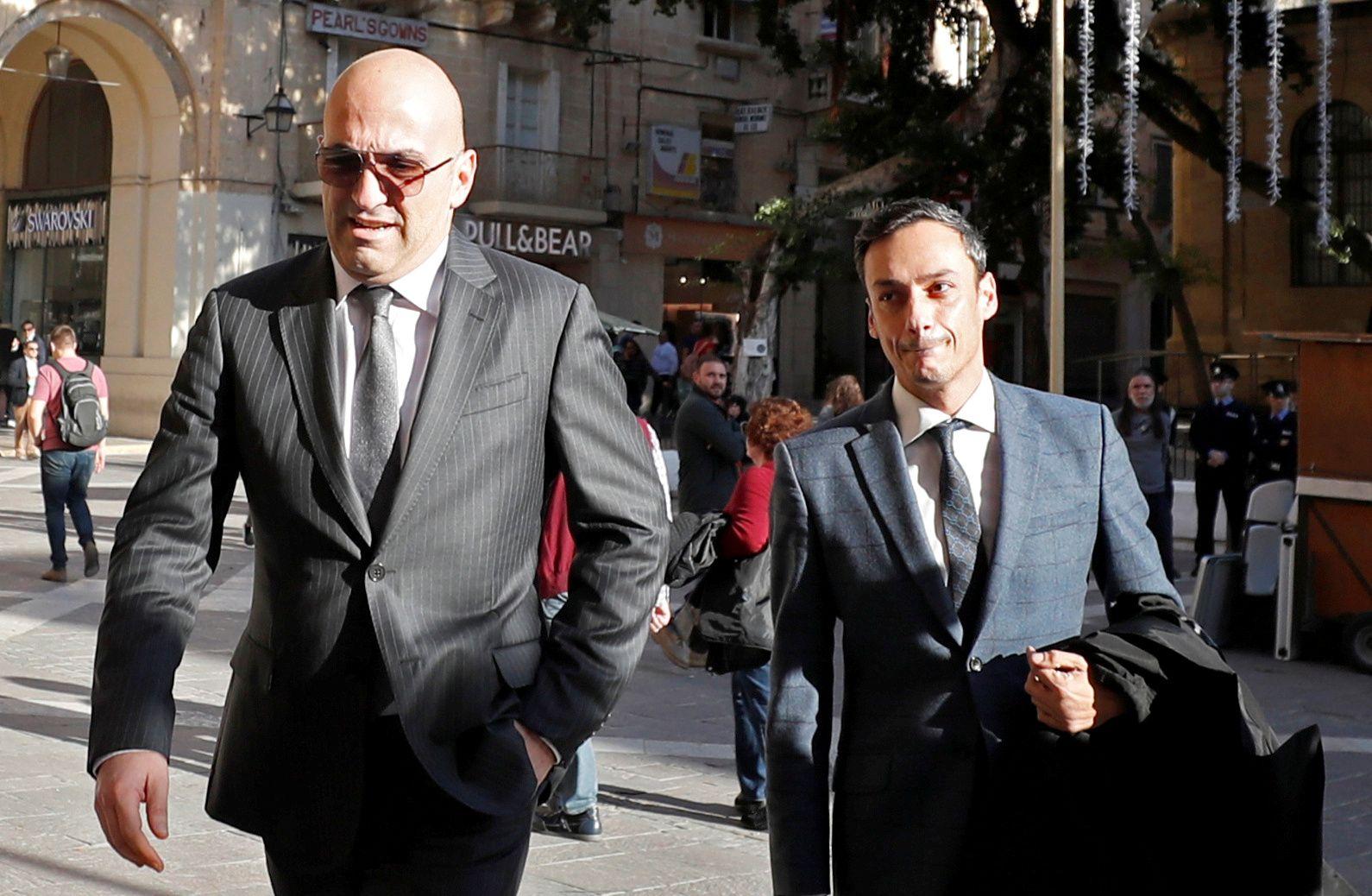 Malta Yorgen Fenech am Gericht