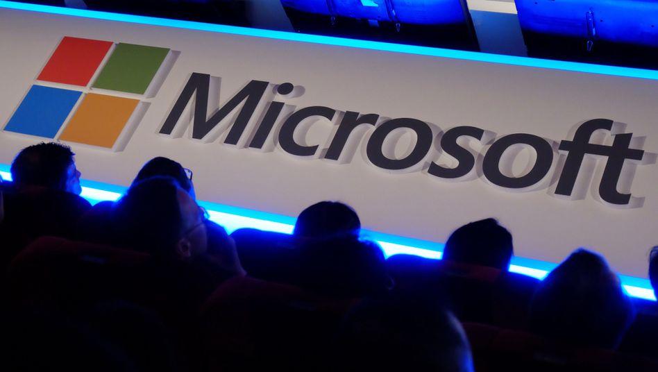 Microsoft-Logo: Konzern speichert auch in der Europäischen Union