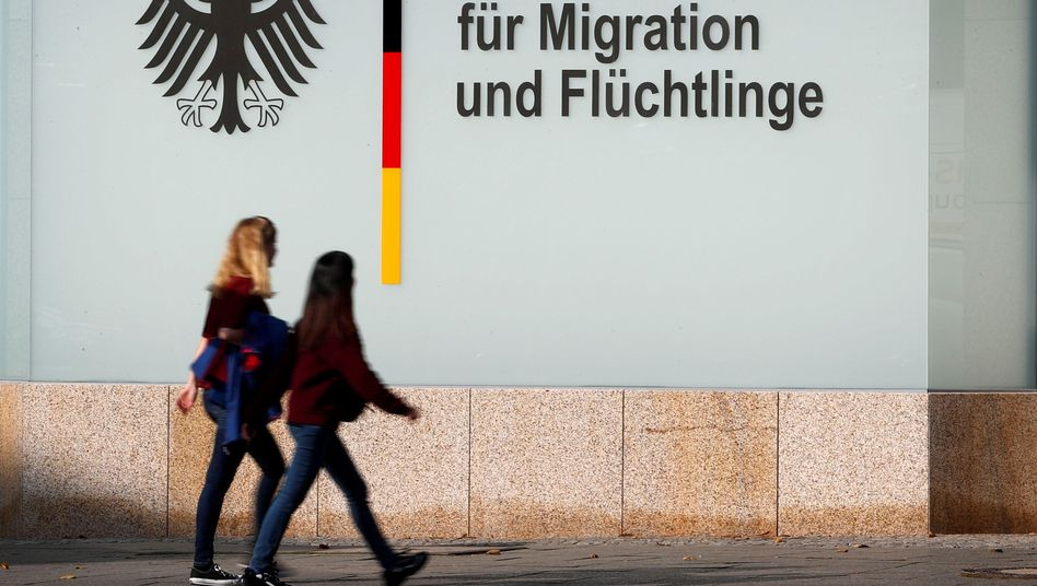 Niederlassung der Asylbehörde Bamf in Berlin