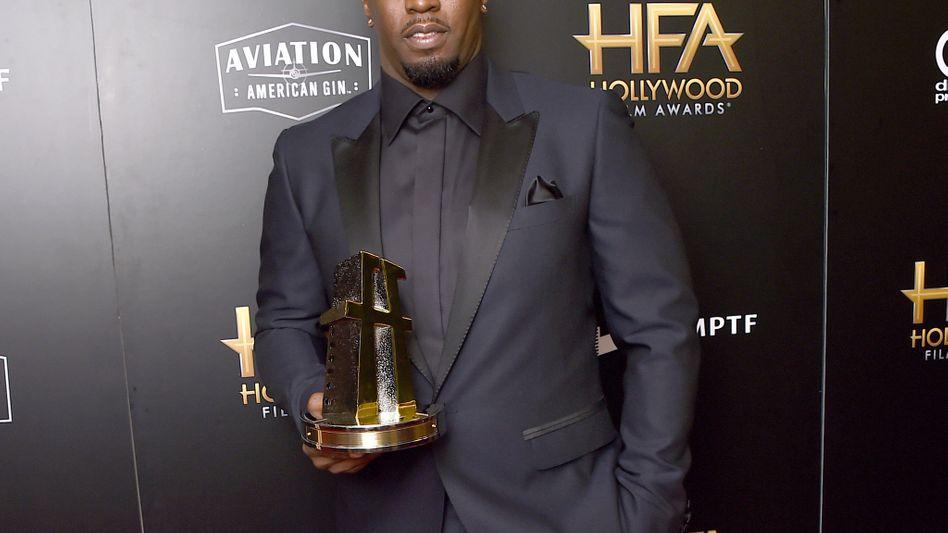 Sean Combs am 05.11.17 bei den Hollywood Film Awards